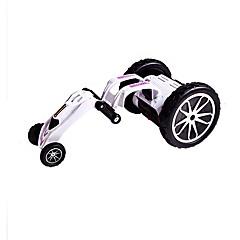 baratos Carros Controle Remoto-Carro com CR 131131 2 Canais 2.4G Stunt Car 1:12 Electrico Não Escovado KM / H