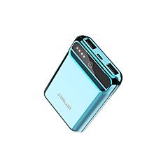 billige Eksterne batterier-10000mah strømbank eksternt batteri 5 batterilader qc 2.0 ledet