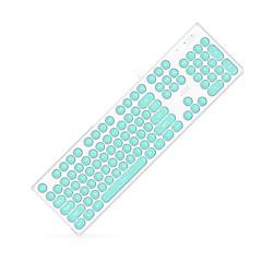 billiga Keyboards-AJAZZ ak325 Kabel monochromatic bakgrundsbelysning 108 Membran Keyboard USB Powered driven