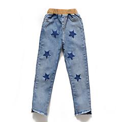 billige Bukser og leggings til piger-Børn Pige Geometrisk Bukser / Sødt