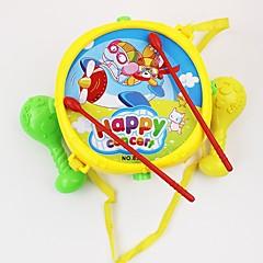 tanie Instrumenty dla dzieci-Hand Drums Dla dzieci / Zabawa / Edukacja Tworzywa sztuczne 18*13cm