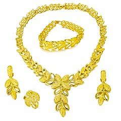 baratos Conjuntos de Bijuteria-Conjunto de jóias - Árvore da Vida Fashion, Importante Incluir Dourado Para Casamento / Festa / Brincos