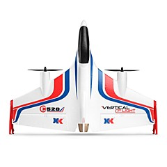 cheap Drones & Radio Controls-RC Airplane XK X520 6CH 2.4G KM/H Brushless Electric