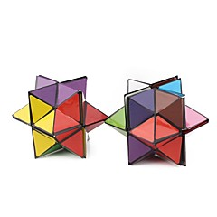 billiga Leksaker och spel-Rubiks kub 1 PCS YongJun D0903 Alien 2*2 Mjuk hastighetskub Magiska kuber Pusselkub Genomskinligt klistermärke Mode Present Unisex