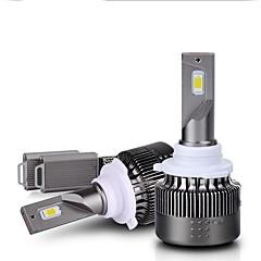 billige Frontlykter til bil-2pcs H8 / 9006 / 9005 Bil Elpærer 36W Integrert LED 3800lm 2 LED Hodelykt For Universell Alle Modeller Alle år