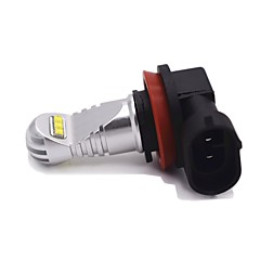 billige Tåkelys til bil-1 Deler H8 / H11 / H9 Bil Elpærer 30W Høypresterende LED 2200lm 6 LED Tåkelys For Lincoln / Ford / Honda Renegade / Qashqai / MKT 2017 /