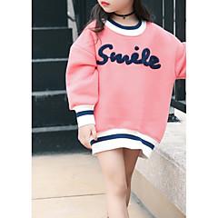 billige Hættetrøjer og sweatshirts til piger-Baby Pige Anden Langærmet Bomuld Bluse