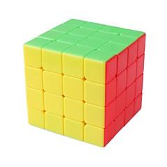 tanie Kostki Rubika-Kostka Rubika 1 PCS MoYu D0912 Rainbow Cube 4*4*4 Gładka Prędkość Cube Magiczne kostki Puzzle Cube Błyszczące Moda Sześcienny Prezent