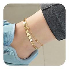 baratos Bijoux de Corps-Tornezeleira - Vintage Dourado / Prata Para Diário Feriado Mulheres