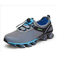 baratos Tênis de Corrida-Unisexo Tênis de Corrida / Tênis / Sapatos Casuais Couro Ecológico / Borracha Esportes Relaxantes / Trilha / Corrida Prova-de-Água, Anti-Escorregar, Anti-Shake Malha Respirável / Tecido de Poliamida