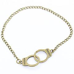 baratos Bijoux de Corps-Tornezeleira - Vintage Prata / Amarelo Para Presente Mulheres