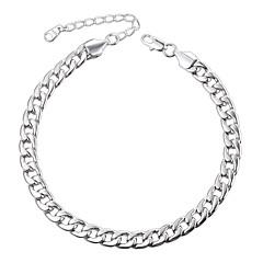 baratos Bijoux de Corps-Tornezeleira - Fashion Prata / Ouro Rose Para Diário / Mulheres / Homens