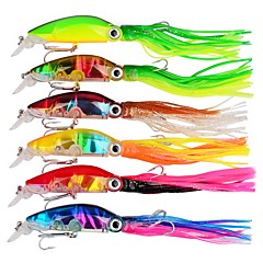 cheap Fishing Lures & Flies-6 pcs Hard Bait Hard Bait / Trolling Lure / Octopus ABS Outdoor / Sports & Outdoors / Octupus Sea Fishing / Bait Casting / Spinning / Jigging Fishing / Freshwater Fishing / Carp Fishing