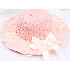 baratos Acessórios para Crianças-chapéus de meninas&caps, primavera outono poliéster cáqui bege blushing rosa branco verde