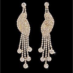 cheap -Women's Tassel Stud Earrings / Hoop Earrings - Gold Plated Bird Simple, Fashion Gold For Wedding / Daily