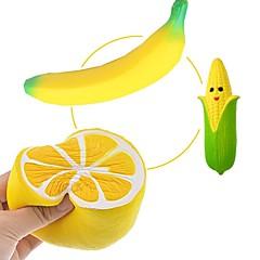 billiga Leksaker och spel-MINGYUAN Stresslindrande leksaker Frukt Föräldra-Barninteraktion / Dekompressionsleksaker / Vackert 3pcs Alla Present