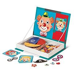 billiga Leksaker och spel-MINGYUAN 8726-3 3D-pussel Clown Vackert / Föräldra-Barninteraktion Barn / Barns Alla Present