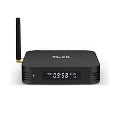 levne TV boxy-Tanix TX28 Android 7.1 TV Box RK3328 4GB RAM 32GB ROM Osmijádrový