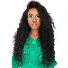 cheap Wigs & Hair Pieces-Human Hair Unprocessed Human Hair Lace Front Wig Mongolian Hair Wavy Wig Side Part 250% Density with Baby Hair Natural Hairline Unprocessed Natural Women's Short Medium Length Long Human Hair Lace Wig