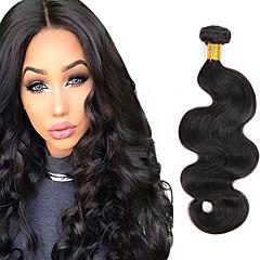 4 Bundles Brazilian Hair Body Wave Virgin Human Natural Color Weaves 8 26 Inch 6a Black