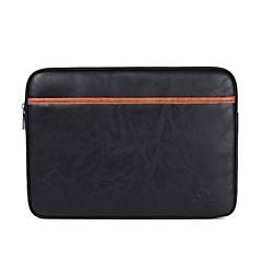 """billiga Laptop Bags-PU läder Enfärgad Ärmar 15 """"bärbar dator / 14 """"bärbar dator / 13 """"bärbar dator"""