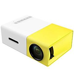 tanie Projektory-yg300 mini projektor lcd projektor led 400 lm wsparcie 1080p (1920x1080) 24-60 calowy ekran / qvga (320x240) - wbudowany akumulator