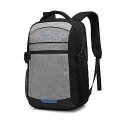 "tanie Torby na laptopa-Nylon Solidne kolory Plecaki 14"" Laptop / 15"" Laptop / 17"" Laptop"