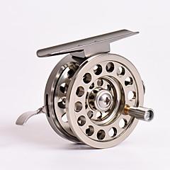 billiga Fiskerullar-Fiskerullar Isfiske Rulle 1:1 Växlingsförhållande+2 Kullager HÖGERHÄNT Sjöfiske / Isfiske
