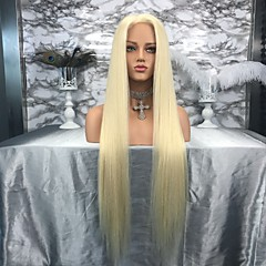 cheap Wigs & Hair Pieces-Remy Human Hair Lace Front Wig Brazilian Hair Straight Wig 130% Density Women's Long Human Hair Lace Wig beikashang