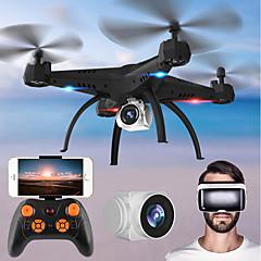 billige Fjernstyrte quadcoptere og multirotorer-RC Drone KY501W BNF 4 Kanaler 6 Akse 2.4G Med HD-kamera 2.0MP 720P Fjernstyrt quadkopter FPV / En Tast For Retur / Hodeløs Modus
