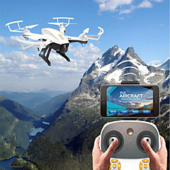 billige Fjernstyrte quadcoptere og multirotorer-RC Drone F20G&F20W BNF 4 Kanaler 6 Akse 2.4G Med HD-kamera 2.0MP 720P Fjernstyrt quadkopter FPV / En Tast For Retur / Hodeløs Modus