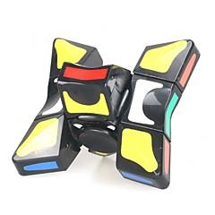 billiga Leksaker och spel-Rubiks kub 9 st YIJIATOYS Twist Cube 3*3*3 Mjuk hastighetskub Magiska kuber Rubiks kuber Pusselkub Office Desk Leksaker Stress och ångest