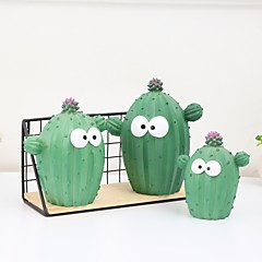 cheap Novelty & Gag Toys-Piggy Bank / Money Bank Floral Theme / Cactus Creative Children's / Teenager Gift