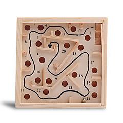 tanie Gry i puzzle-Drewniane puzzle Drewno / Bambus Wszystko Przedszkole Prezent 1pcs