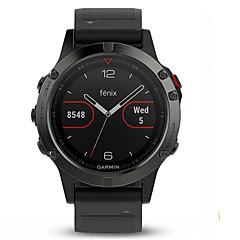 billige Smartklokker-Smartklokke Fenix5 til Android iOS Bluetooth USB GPS Vanntett Trenings logg Informasjon Aktivitetsmonitor øvelse Påminnelse / 64MB / 24-50