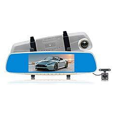 Χαμηλού Κόστους DVR Αυτοκινήτου-ZIQIAO JL-V10 1080p HD / Διπλός φακός DVR αυτοκινήτου 170 μοίρες Ευρεία γωνεία CMOS 7 inch IPS Dash Cam με Νυχτερινή Όραση / G-Sensor / Λειτουργία πάρκινγκ Εγγραφή αυτοκινήτου / Ανίχνευση Κίνησης