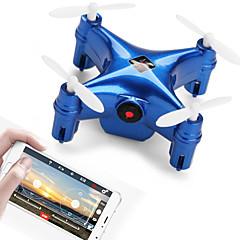 billige Fjernstyrte quadcoptere og multirotorer-RC Drone WL Toys Q343 RTF 4 Kanaler 6 Akse 2.4G / WIFI Med HD-kamera 0.3MP 640P*480P Fjernstyrt quadkopter FPV / Hodeløs Modus / Flyvning