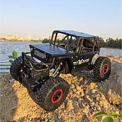 voordelige RC auto's-RC auto Alloy Climber 4WD RC Car 4-kanaals 2.4G Rock Climbing Car / Off Road Car 1:18 KM / H