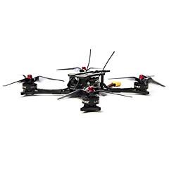 billige Fjernstyrte quadcoptere og multirotorer-RC Drone EMAX HAWK 5 - 5 Inch FPV Racing Drone - BNF (Frsky XM+) BNF 6 Akse 5.8G Med HD-kamera 600TVL Fjernstyrt quadkopter FPV Fjernstyrt Quadkopter / Kamera / Blader / 122 Degree