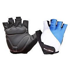 baratos Luvas de Motociclista-WOSAWE Meio dedo Unisexo Motos luvas Malha Respirável Respirável / Anti-desgaste / Non-Slip