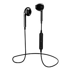 billiga Headsets och hörlurar-S6 Bluetooth Headsets Bluetooth4.1 Hörlurar ABS + PC Mobiltelefon Hörlur mikrofon / Med volymkontroll headset