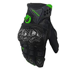 baratos Luvas de Motociclista-RidingTribe Dedo Total Unisexo Motos luvas Fibra de carbono / uretano poli / Malha Respirável Respirável / Resistente ao Choque