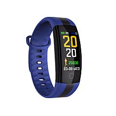tanie Inteligentne zegarki-Inteligentny zegarek QS01 na Android iOS Bluetooth Pomiar ciśnienia krwi Ekran dotykowy Długi czas czuwania Odbieranie bez użycia rąk Śledzenie Odległość Czasomierze Stoper Rejestrator aktywności