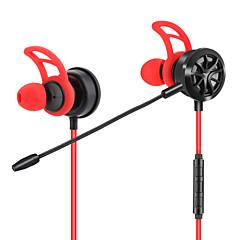 billiga Headsets och hörlurar-JTX I öra Kabel Hörlurar Hörlurar Acryic / Polyester Sport & Fitness Hörlur mikrofon / Bekväm headset