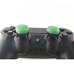 זול -הבקר משחק Thumb מקל Grips עבור PS4 / PS4 Slim / PS4 Prop ,  הבקר משחק Thumb מקל Grips סיליקון 1 pcs יחידה