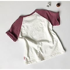 tanie Odzież dla chłopców-Dzieci Dla chłopców Podstawowy Nadruk Krótki rękaw T-shirt