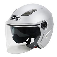 tanie Kaski i maski-YOHE YH-837-R Braincap Doroślu Unisex Kask motocyklowy Odporny na wstrząsy / Oddychający