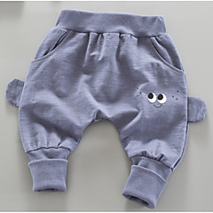 billige Babyunderdele-Baby Unisex Basale Trykt mønster Trykt mønster Bomuld Bukser