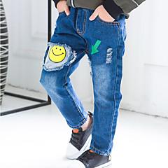 billige Jeans til drenge-Børn / Baby Drenge Trykt mønster Jeans