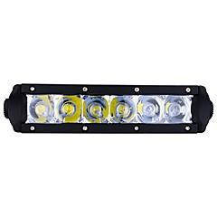 billige Kjørelys-exLED 2pcs Bil Elpærer 30 W 3000 lm 6 LED Dagkjøringslys / utvendig Lights For Universell